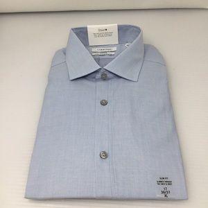 Calvin Klein Steel Performance SlimFit Dress Shirt